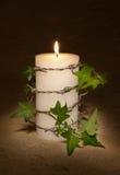 Kerze für Freiheit Stockbild