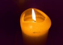 Kerze-Flamme Lizenzfreies Stockbild