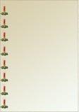 Kerze-Hintergrund Lizenzfreie Stockfotografie