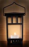 Kerze-Laterne Stockbilder
