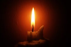Kerze-Leuchte Lizenzfreie Stockfotografie
