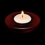 Kerze-Leuchte lizenzfreie abbildung