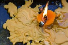 Kerze meling Lizenzfreie Stockbilder