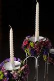 Kerzeblumenstrauß Stockbilder