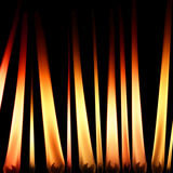 Kerzeflammen Stockfoto