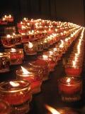Kerzeleuchte Stockbild