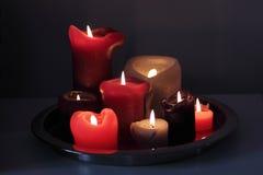 Kerzeleuchte Stockfotos