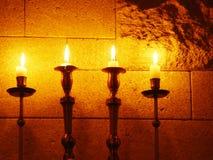 Kerzen Stockbild