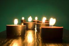 Kerzen stockfotos