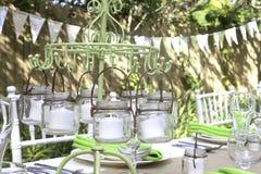 Kerzen-Dekoration Stockbilder