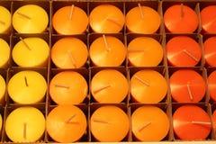 Kerzen in der Datei Lizenzfreies Stockfoto