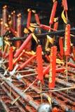 Kerzen des Glaubens Lizenzfreie Stockfotos