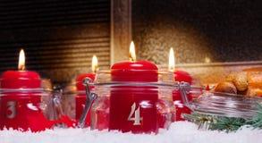 Kerzen, 4. Einführung Stockbild