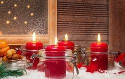 Kerzen, 4. Einführung Lizenzfreies Stockbild