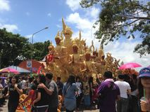 Kerzen-Festival Lizenzfreies Stockfoto