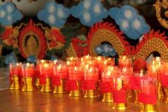 Kerzen Glaube Lizenzfreies Stockfoto