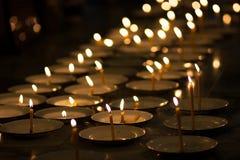 Kerzen Glaube lizenzfreie stockfotos