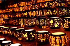 Kerzen-Halter vereinbart für Verkauf Stockfotos