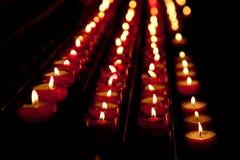 Kerzen Hoffnung Stockfoto