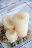 Kerzen-Kunst Lizenzfreies Stockfoto