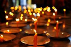 Kerzen-Licht stockfoto