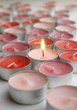 Kerzen Liebe Lizenzfreie Stockbilder