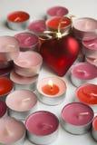 Kerzen Liebe Lizenzfreies Stockfoto