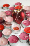Kerzen Liebe Stockfoto
