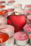 Kerzen Liebe Lizenzfreie Stockfotografie