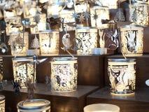 Kerzen-Weihnachtsandenken Lizenzfreie Stockfotos