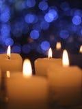 Kerzen am Weihnachtstag, Nanjing stockfotos