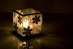 Kerzenhalter-Kasten stockfotografie