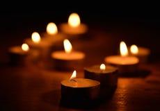 Kerzenlicht stockbilder
