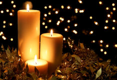 Kerzenlicht stockbild