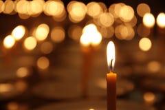 Kerzenlicht Lizenzfreie Stockbilder