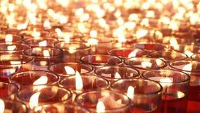 Kerzenlicht stock video