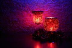 Kerzenlicht-Feier II Stockfoto