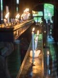 Kerzenlicht in kiyomizu Tempel Lizenzfreies Stockbild
