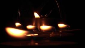 Kerzenlichter 05 stock video