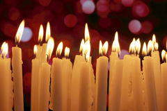 Kerzenlichter Stockfotos