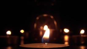 Kerzenlichter 03 stock video