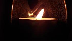 Kerzenlichter 01 stock video