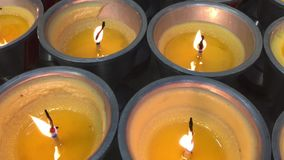 Kerzenlichter stock video footage