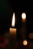 Kerzenweihnachten Lizenzfreie Stockfotos
