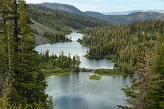 Kes в мамонтовых озерах, Калифорнии Стоковая Фотография RF