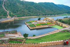 Jaipur Fort royalty free stock photography