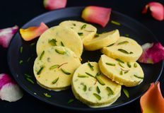 Kesar Malai Kulfi Royalty Free Stock Photo
