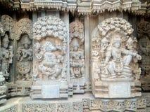 KESHAVA TEMPEL IN INDIA Stock Afbeeldingen