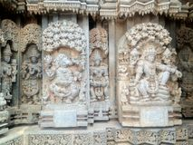 KESHAVA-TEMPEL IN INDIEN Stockbilder