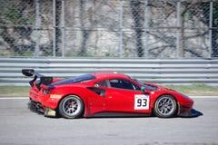 Kessel die Ferrari 488 GT3 rennen stock afbeelding